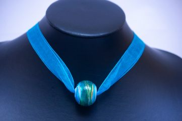 Collier Carmello Bleu