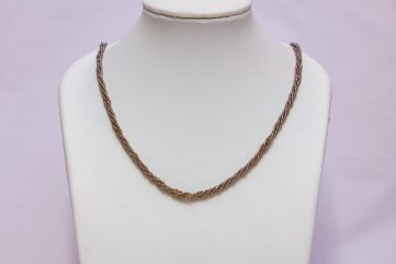 Collier En Perles De Conteria Or À 4 Fils