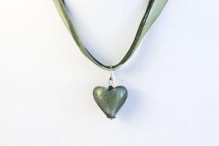 Pendentif Amore Vert Lichen