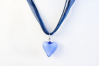Pendentif Amore Bleu
