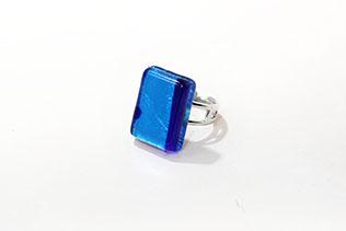 Bague Camillia Bleu Azur Et Saphir