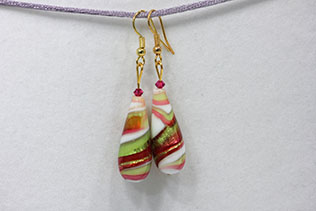 Boucles d'oreilles Grande Goccia Multicolore