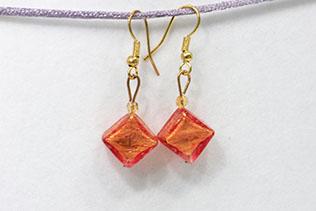 Boucles d'oreilles Clelia Tangerine