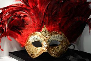 Masque De Venise Inca Rouge