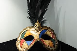 Masque De Venise Colombina Arlequin