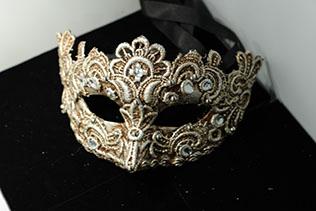 Masque De Venise Galetto Argent