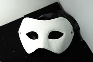 Masque De Venise Blanc