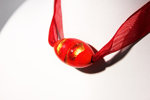 Collier Bulle Rouge