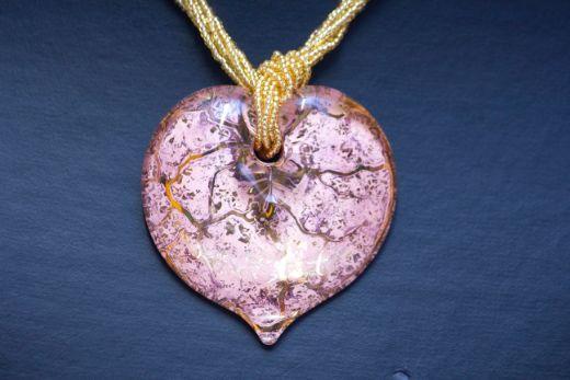 Parure Chamorel: Collier Et Bague Rose