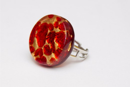 Bague Marianna Rouge