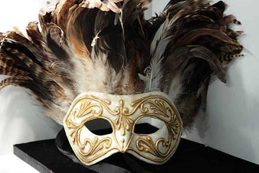 Masque De Venise Inca Marron