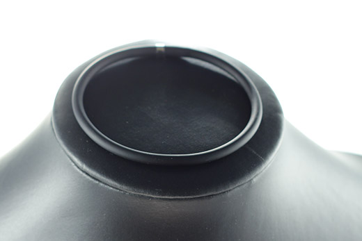 Bracelet En Caoutchouc Noir