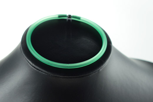 Bracelet En Caoutchouc Vert